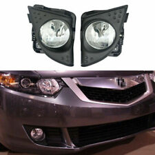LH+RH Fog Driving Light Lamp Cover Fit For Acura TSX 2009-2010 33900/33950TL0A01