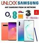 UNLOCK CODE SAMSUNG GALAXY S20 ULTRA S9 PLUS S10 PLUS S10 S10E O2 EE VODAFONE BT <br/> CODE DELIVERY in 1-24 hours, ALL SAMSUNG UK SUPPORTED