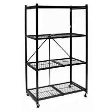 Origami R5-01W 20-Second Folding Storage Rack - 4 Shelves
