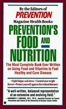 Prevention's Food and Nutrition Prevention Magazine editors Mass Market Paperba