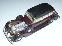 RIO 1937 MERCEDES-BENZ Cabriolet Maroon Car Model 1:43 DieCast Made in Italy