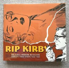 RIP KIRBY 1959-1962 BY JOHN PRENTICE NEWSPAPER COMIC STRIPS HARDCOVER NEAR MINT