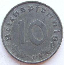 TOP! 10 Pf 1943 J in SEHR SCHÖN+++ SELTEN !!!