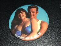 Beverly Hills, 90210 Luke Perry Pin button promo spelling authentic brenda