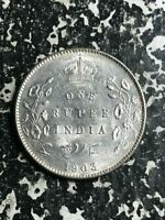 1903 India 1 Rupee Lot#L5791 Silver! Nice!