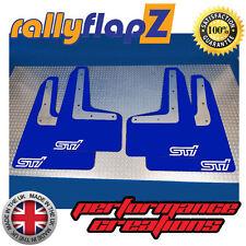 rallyflapZ SUBARU IMPREZA 15 Modelo Guardabarros Azul STi smallWhite 4mm PVC