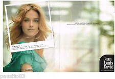 PUBLICITE ADVERTISING 105  2006   JEAN-LOUIS DAVID  ( 2p) coiffeur pour L'OREAL