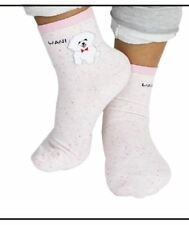 Cute Wani Dog Soft Socks (PINK)