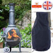 Garden Heavy Duty Large BBQ Chimnea Chiminea Waterproof Rain Protector Cover UK