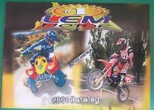 LEM  MOTOR CATALOGO 2001   DEPLIANT  BROCHURE   CATALOGUE RECLAME PROSPEKT