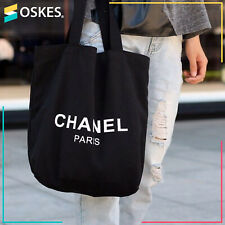 NEW Chanel VIP Gift Canvas Tote bag limited edition form Chanel Japan Black