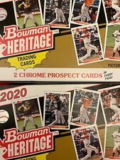 2020 Bowman Heritage Base Stars/Rookies & Prospects - You Pick - Free Shipping