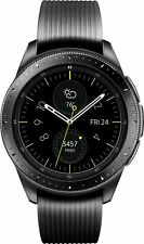 NEW! Samsung Galaxy Watch SM-R810 42mm Stainless Midnight Black Bluetooth + GPS
