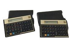 Hewlett Packard Hp 12c Financial Calculator With Case Sleeve- 2 Calculators
