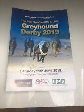 Nottingham Greyhound Derby 2019 Programme