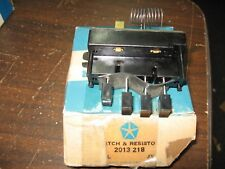 NOS Mopar 1964-65 Chrysler Plymouth Dodge AC blower switch w/resistor