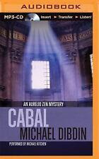 An Aurelio Zen Mystery: Cabal 3 by Michael Dibdin (2015, MP3 CD, Unabridged)