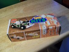GOULA WOODEN JEEP MODEL KIT ( NEW MADE IN SPAIN )