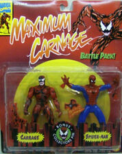Maximum Carnage Vs Spider-Man Animated Series Battle Pack By Toy Biz (MOC)