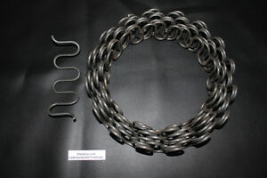 1 m Wellenfedern/Nosagfedern/Flachfedern/Unterfederung/ Meterpreis/ Rücken weich