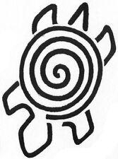 Unmounted Rubber Stamps Set, Southwest Art, Primitive, Turtle, Hand & Lizard Set
