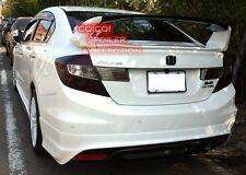 Unpainted Honda 2012~2015 Civic Sedan 4D LIMIT trunk spoiler 3pcs ◎