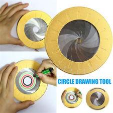 Circle Tool Adjustable Measurement Stainless Steel Drawing Ruler Drafting Tool.