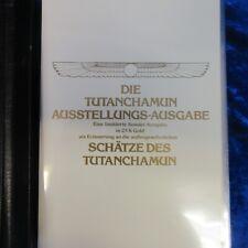 A5005 Briefmarken, Die Tutanchamun Ausstellungs-Ausgabe mit 23 K Gold