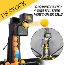 Table Tennis Robot Automatic Ping-pong Ball Machine Practice Recycle with Net