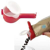 Kitchen Reuseable Bag Clips Storage Food Sealing Kitchen Sealer Cap Type Spray