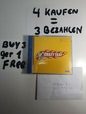 Crazy Taxi Dreamcast Good Case, MINT paperwork and Disc
