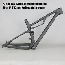 NEW 2021 Full Suspension MTB carbon frame XC mountain carbon framset BB92 FM038