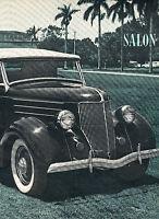1964 1936 Ford Deluxe Roadster Original Car Review Print Article J375