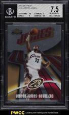 2003 Finest Basketball LeBron James ROOKIE RC /999 #133 BGS 7.5 NRMT+