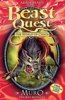 Muro the Rat Monster: Series 6 Book 2 (Beast Quest), Blade, Adam, Very Good Book