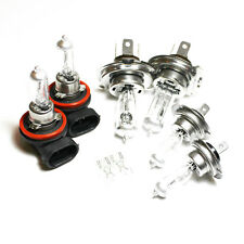 H7 H4 H11 501 100w Clear Standard Xenon HID High/Low/Fog/Side Light Bulbs