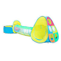 3 in1 Play Tent Kids Toddlers Tunnel Set Pop Up Children Baby Cubby Playhouse