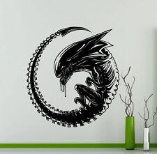 Alien Wall Decal Monster Alien Movie Vinyl Sticker Art Decor Home Mural (313su)