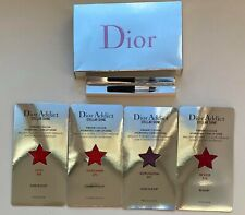 DIOR ADDICT lipstick STELLAR SHINE samples set 536 673 891 976 VIP GIFT