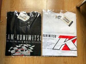 Team Kunimitsu Keiichi Tsuchiya T-Shirt Kei Office K1 Planning For AE86 Rare R32