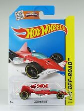 Hot Wheels 2015 #91 Cloud Cutter RED,1ST COLOR,YLW RIM,BLK OH5SP,METAL BASE,INTL