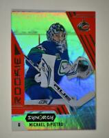 2020-21 UD Synergy Red Bounty Code Rookie #105 Michael DiPietro RC