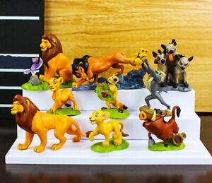 Cute 9 PCs. Lion King Action Figures Educational Toys for Children Home Decorati
