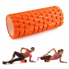Grid Foam Yoga Roller Trigger Point Gym Pilates Massage Physio 4 Colours 33CM UK