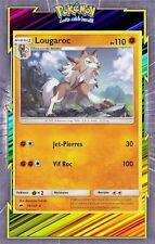Lougaroc - SL03:Ombres Ardentes - 76/147 - Carte Pokemon Neuve Française