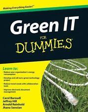 Green IT For Dummies, Carol Baroudi, Jeffrey Hill, Arnold Reinhold, Good Books