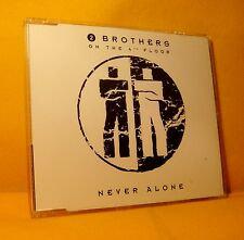 MAXI Single CD 2 BROTHERS ON THE 4TH FLOOR Never Alone 5TR '93 eurodance classic