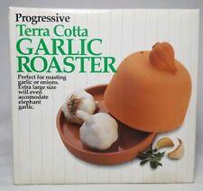 Progressive Terra Cotta Garlic & Onion Roaster ~ Extra Large Size