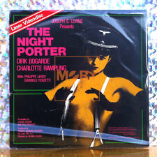 THE NIGHT PORTER LASERDISC erotic postwar drama laser disc Cavani videodisc 1974
