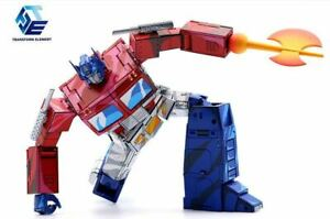 Transform Element TE Optimus Prime OP Cell shaded version Transform Robot Toy